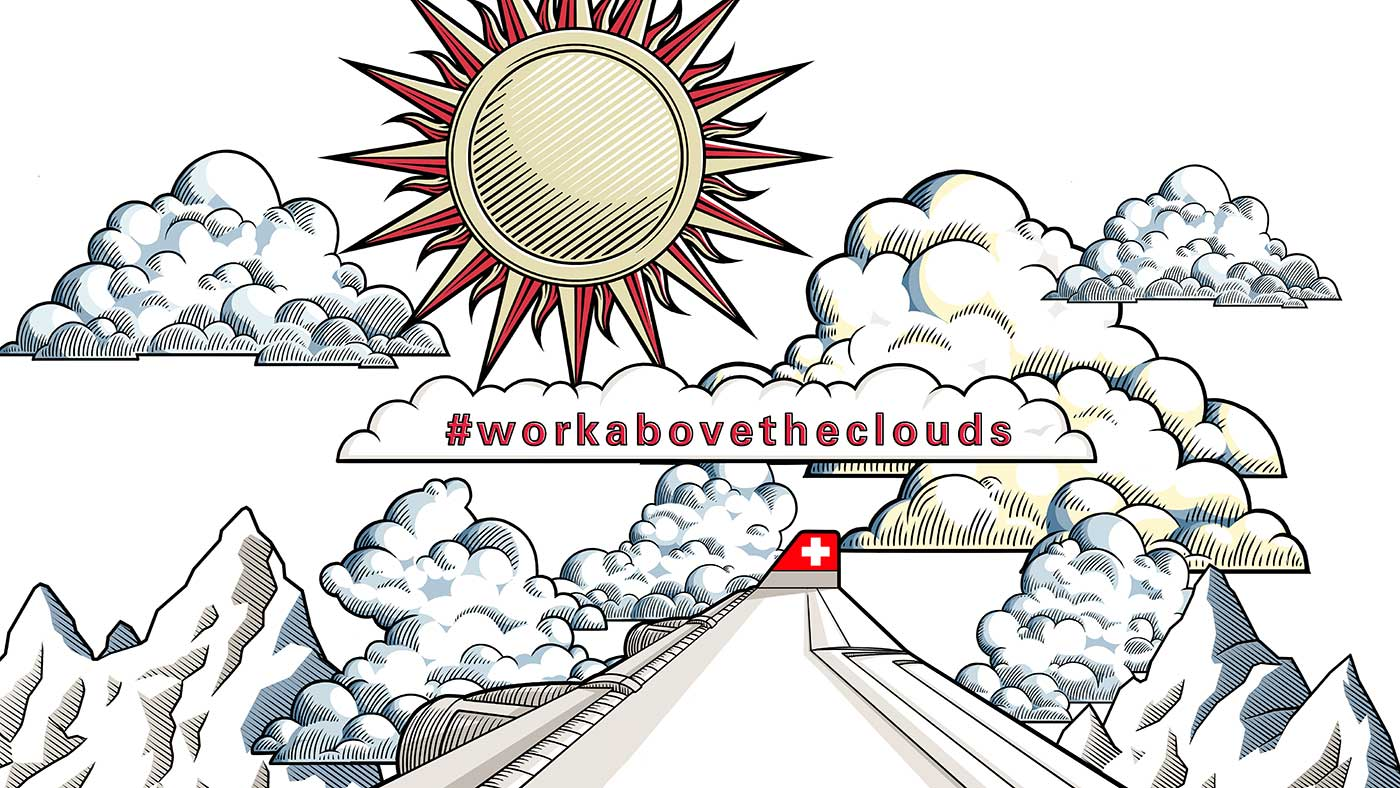 SWISS - #workabovetheclouds